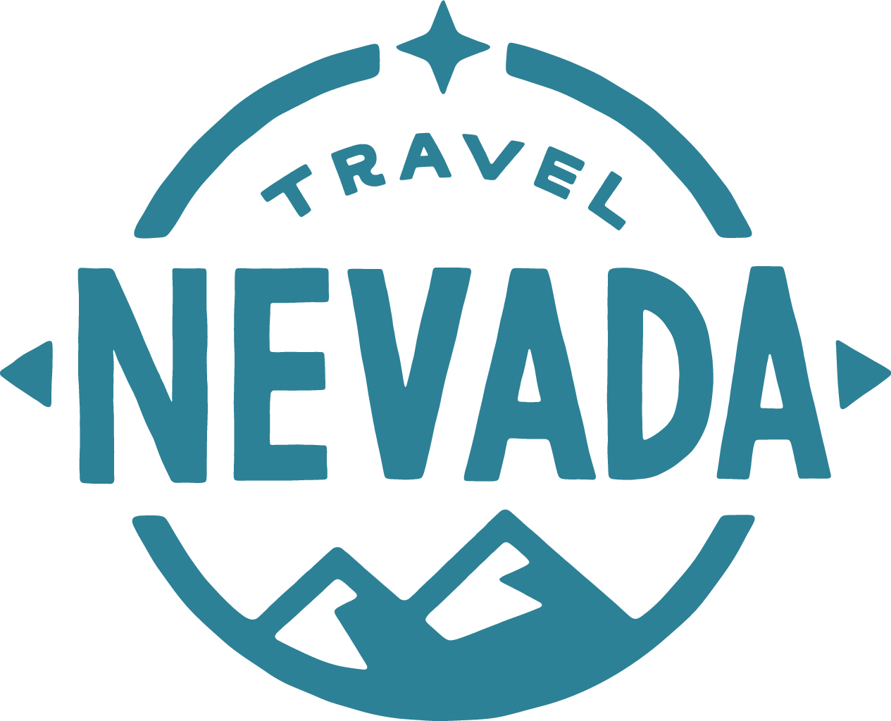TravelNevada-Mtns Main Logo Blue
